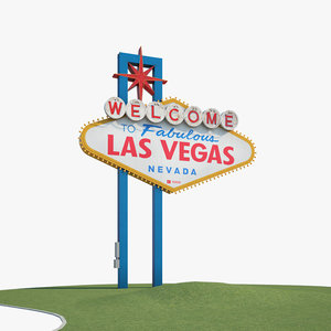 welcome fabulous las 3D model