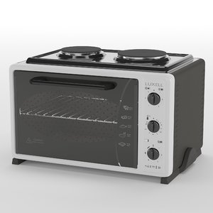 mini oven luxell lx-3560 3D model