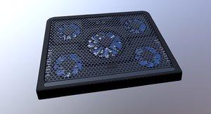 3D laptop cooler type