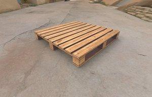 3D model wooden wood