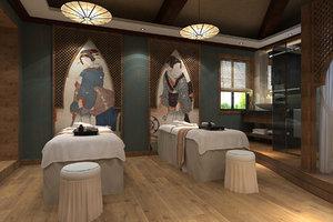 spa beauty salon 3D model