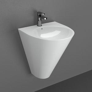 3D faucet volle sink olivia model