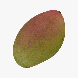 3D mango 05 raw scan model