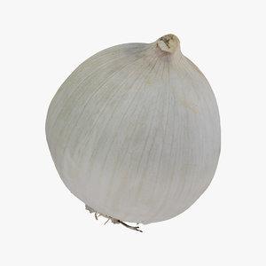 onion white 01 raw model