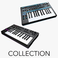 Novation Bass Station II and AFX Station Analog Synthesizers Collection