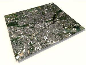 cityscape nurnberg germany city 3D model