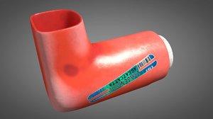 inhaler science 3D