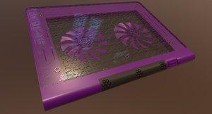 3D laptop cooler type b