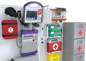 ambulatory equipment model