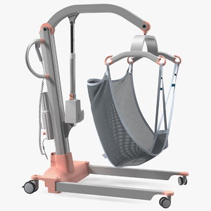 3D patient lift sling model