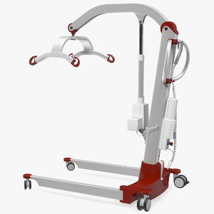 3D patient lift