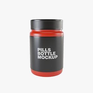 pill bottle model