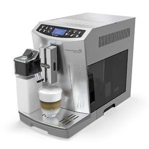 coffee machine delonghi primadonna 3D