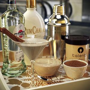 3D rumchata cocktail set model