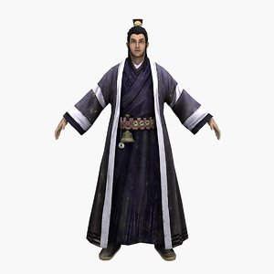 daozhang 3D model