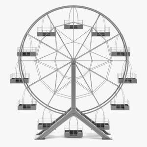 3D ferris wheel