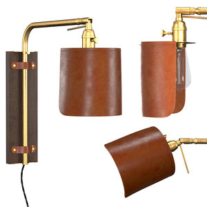 ava wall sconce plug 3D model