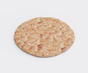 food bread pita model