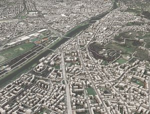 cityscape florence italy city 3D model