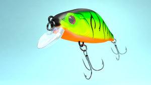 3D wobbler fishing