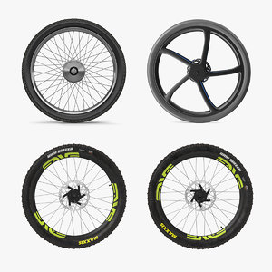 bicycle wheels 3 cycle model