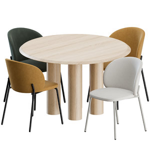 3D chairs boconcept fredericia