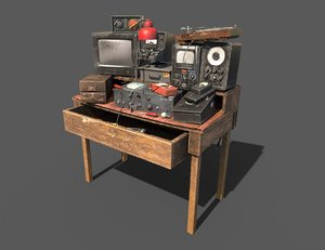 3D work devices model