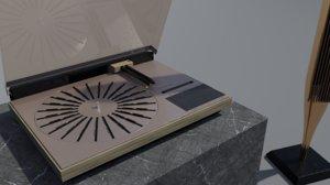 beogram 4000c 4000 3D model