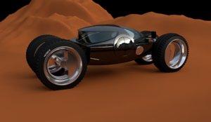 car concept vehicle auto 3D model