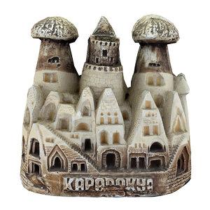 cappadocia fairy chimneys 4 3D model
