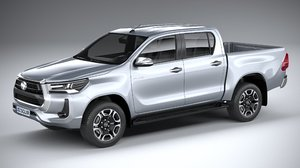 toyota hilux double model