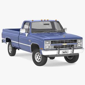 chevrolet k30 silverado pickup truck model