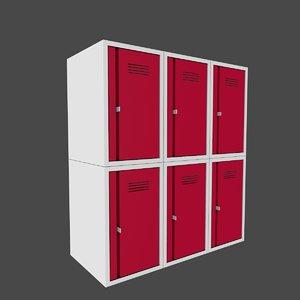 3D locker school