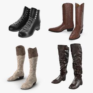boots 2 3D model