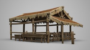 3D ancient stable model