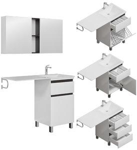 3D furniture set dolomite ergonomics
