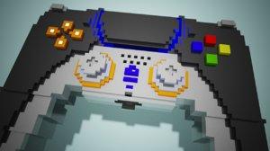 3D voxel controller model