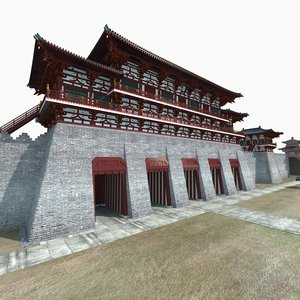 3D chinese ancient city model