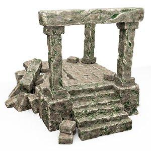3D model architecture building