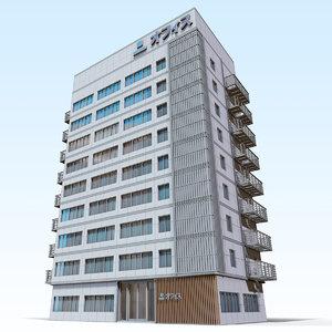 japanese office 3D