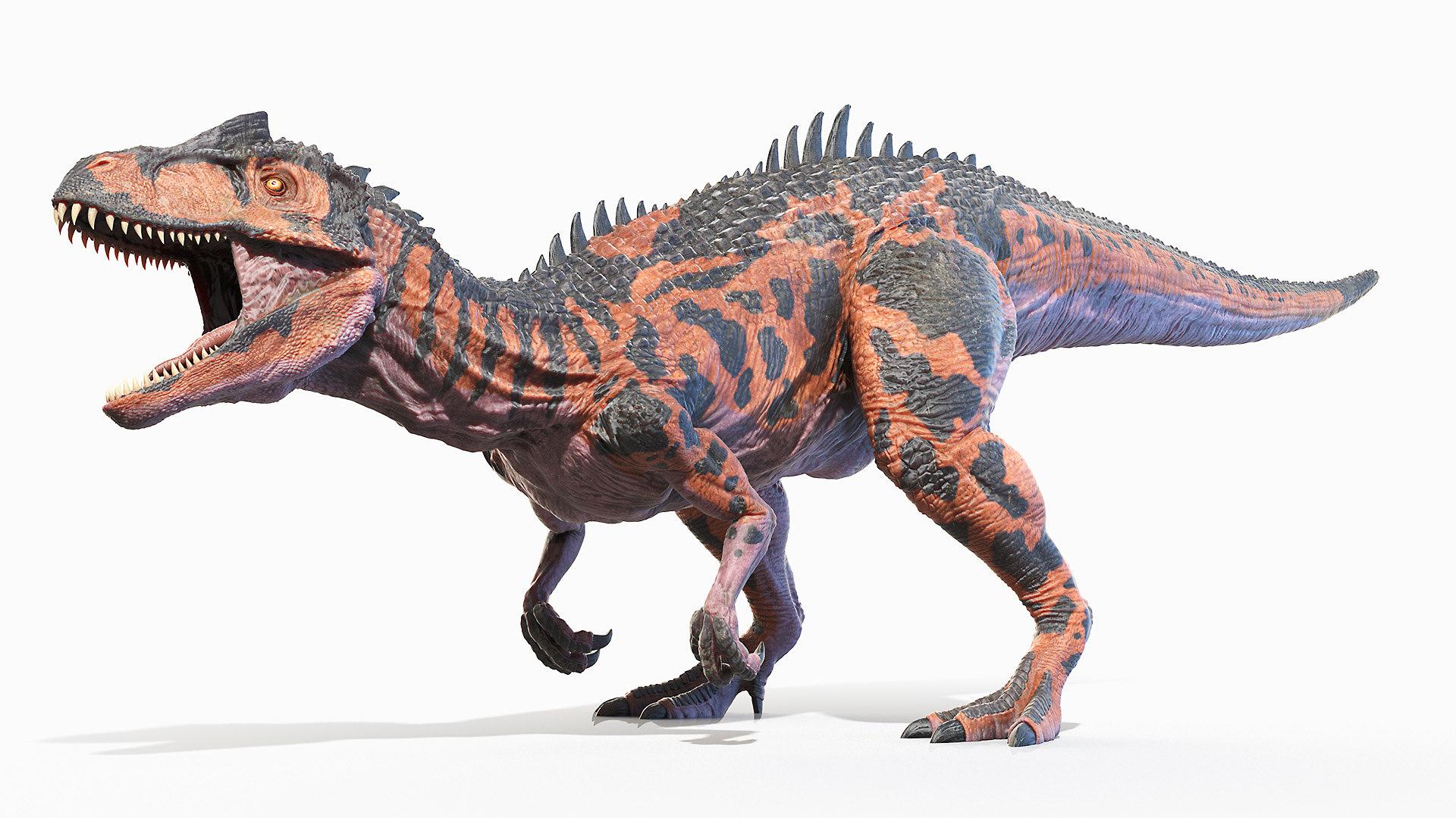 3D allosaurus - TurboSquid 1658516