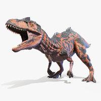 Allosaurus Animated