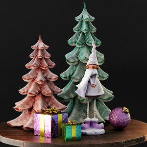 3D christmas decor