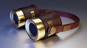 glass steampunk 3D model