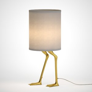 3D teifi table lamp model