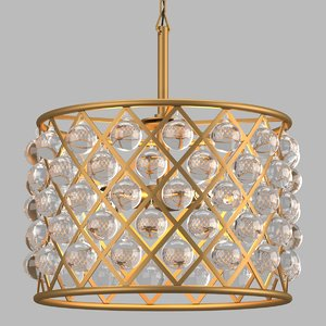 chandelier light 3D