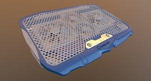 laptop cooler type d 3D model