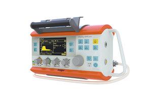 portable lung ventilator oxylog model