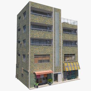 3D model building stores