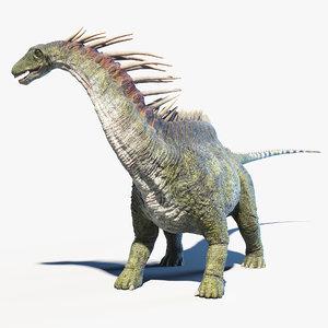 amargasaurus 3D